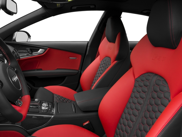 2016 Audi RS 7 Prices and Values Sedan 4D RS7 Performance AWD V8 front seat interior