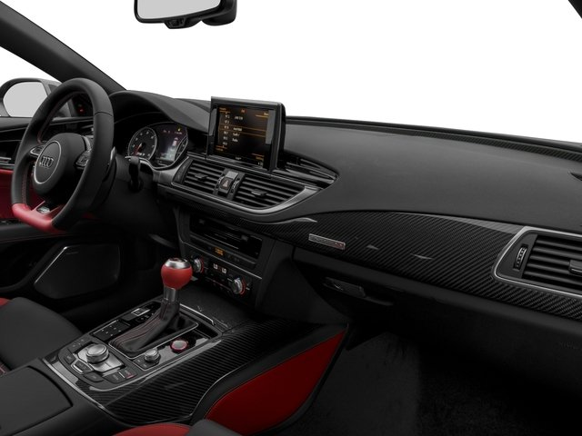 2016 Audi RS 7 Prices and Values Sedan 4D RS7 Performance AWD V8 passenger's dashboard