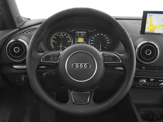 2016 Audi A3 e-tron Prices and Values Hatchback 5D E-tron Premium driver's dashboard