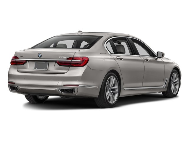2016 BMW 7 Series Prices and Values Sedan 4D 750i Turbo side rear view