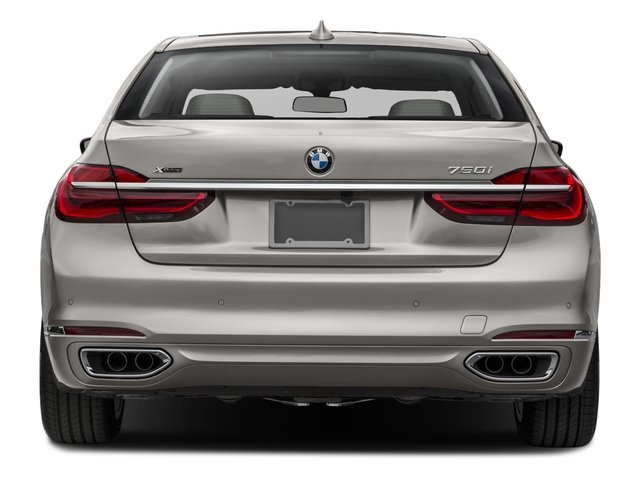 2016 BMW 7 Series Prices and Values Sedan 4D 750i Turbo rear view