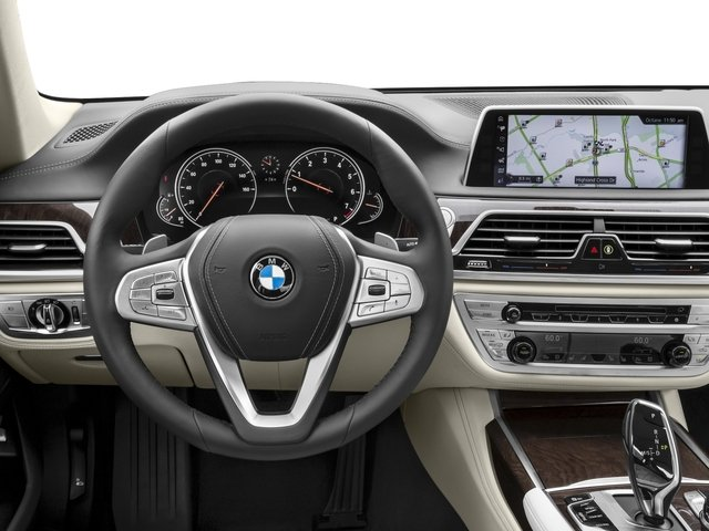 2016 BMW 7 Series Prices and Values Sedan 4D 750i Turbo driver's dashboard