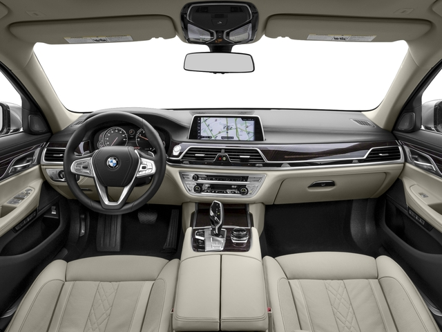 2016 BMW 7 Series Prices and Values Sedan 4D 750i Turbo full dashboard