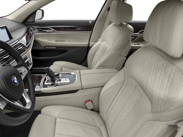 2016 BMW 7 Series Prices and Values Sedan 4D 750i Turbo front seat interior