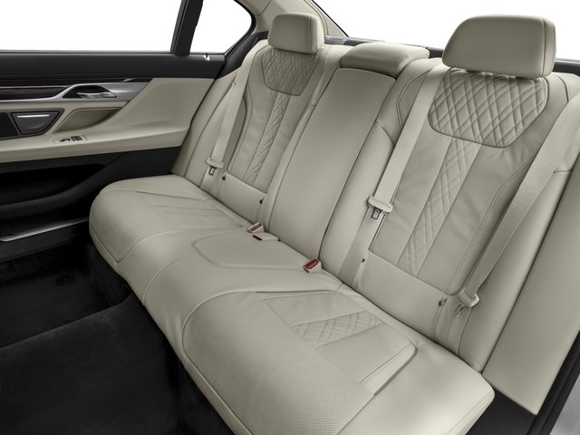 2016 BMW 7 Series Prices and Values Sedan 4D 750i Turbo backseat interior
