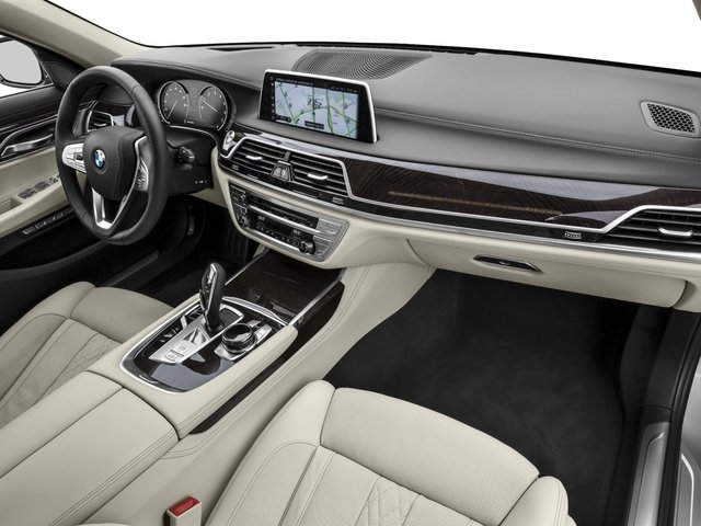 2016 BMW 7 Series Prices and Values Sedan 4D 750i Turbo passenger's dashboard