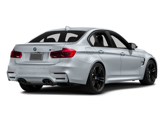 2016 BMW M3 Prices and Values Sedan 4D M3 I6 Turbo side rear view