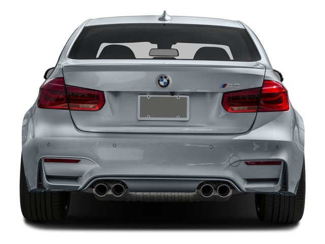 2016 BMW M3 Prices and Values Sedan 4D M3 I6 Turbo rear view