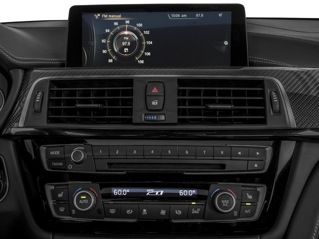 2016 BMW M3 Prices and Values Sedan 4D M3 I6 Turbo stereo system