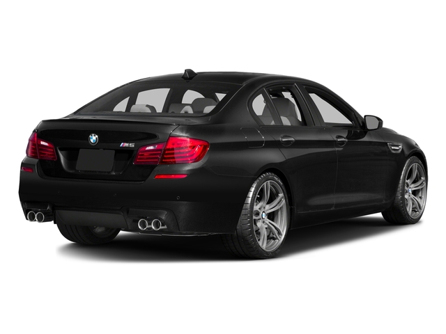 2016 BMW M5 Prices and Values Sedan 4D V8 Turbo side rear view