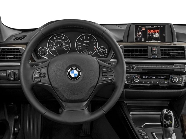 2016 BMW 3 Series Prices and Values Sedan 4D 320i I4 Turbo driver's dashboard