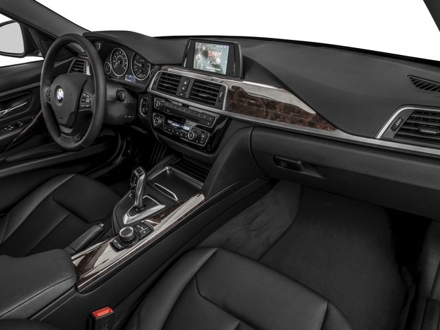 2016 BMW 3 Series Prices and Values Sedan 4D 320i I4 Turbo passenger's dashboard