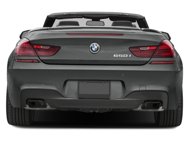 2016 BMW 6 Series Pictures 6 Series Convertible 2D 650xi AWD V8 photos rear view