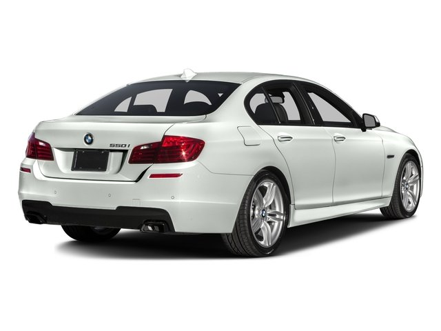 2016 BMW 5 Series Prices and Values Sedan 4D 550i V8 Turbo side rear view
