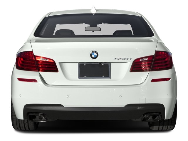 2016 BMW 5 Series Prices and Values Sedan 4D 550i V8 Turbo rear view