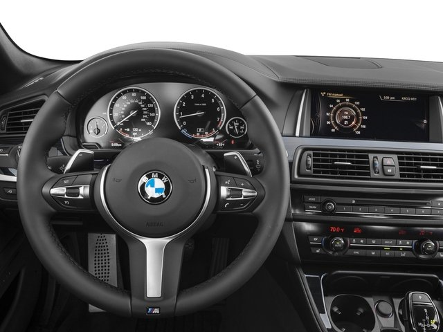 2016 BMW 5 Series Prices and Values Sedan 4D 550i V8 Turbo driver's dashboard