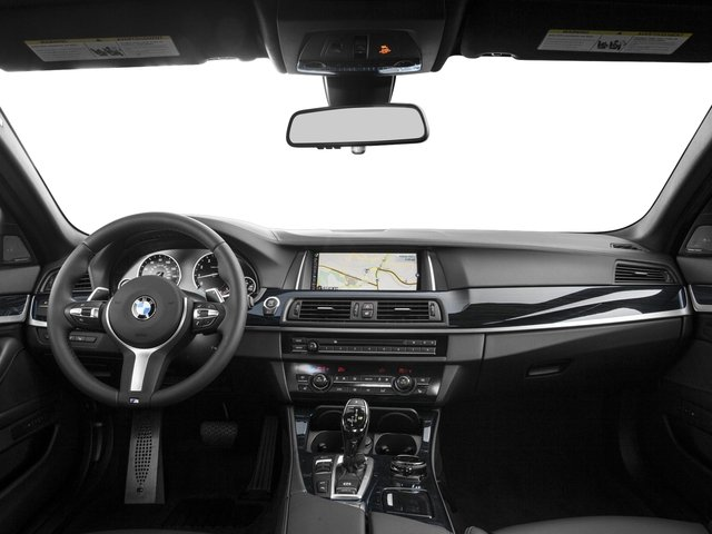 2016 BMW 5 Series Prices and Values Sedan 4D 550i V8 Turbo full dashboard
