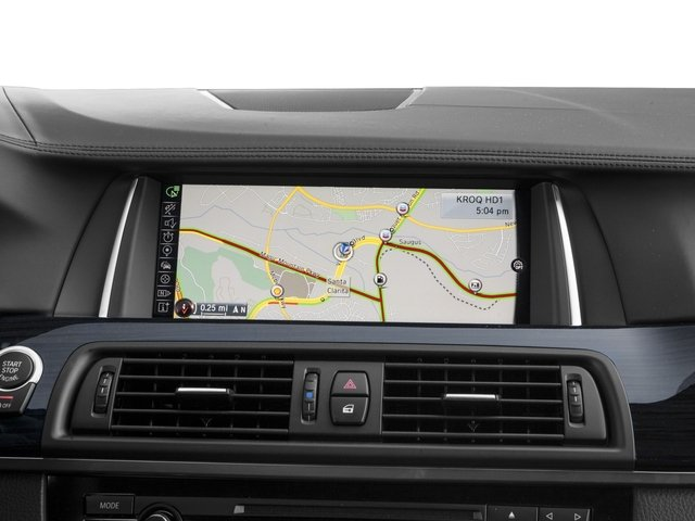 2016 BMW 5 Series Prices and Values Sedan 4D 550i V8 Turbo navigation system