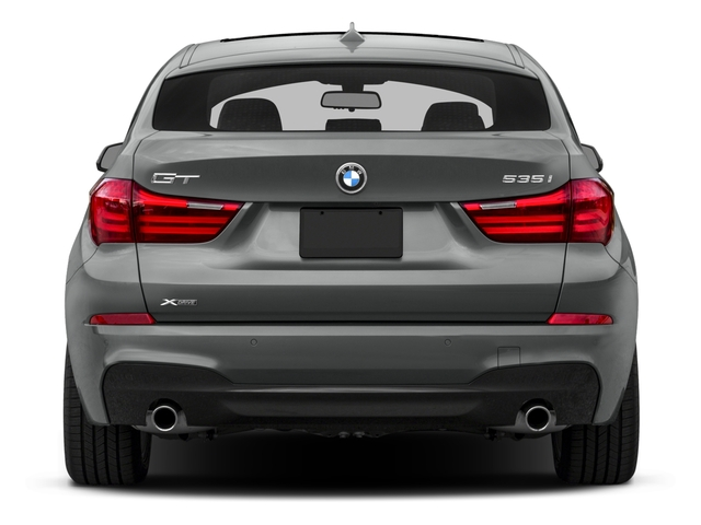 2016 BMW 5 Series Gran Turismo Prices and Values Sedan 4D 535i GT I6 Turbo rear view