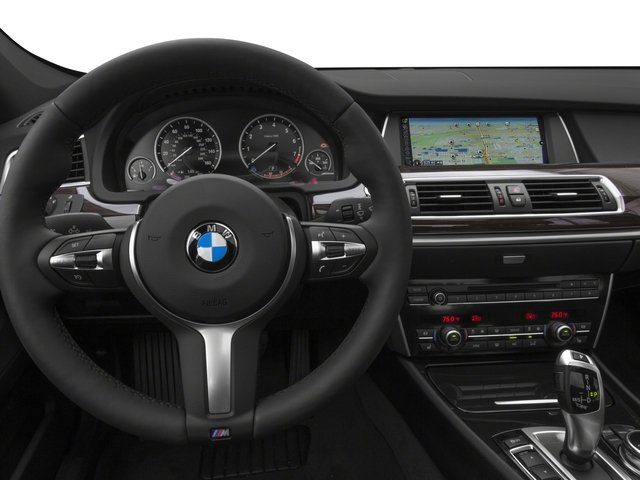 2016 BMW 5 Series Gran Turismo Prices and Values Sedan 4D 535i GT I6 Turbo driver's dashboard