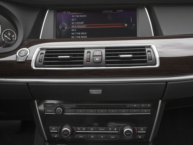 2016 BMW 5 Series Gran Turismo Prices and Values Sedan 4D 535i GT I6 Turbo stereo system