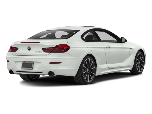 2016 BMW 6 Series Prices and Values Coupe 2D 640i I6 side rear view
