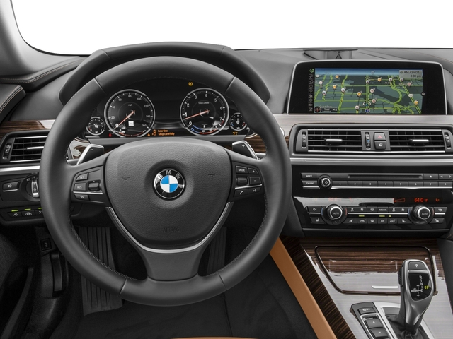 2016 BMW 6 Series Prices and Values Coupe 2D 640i I6 driver's dashboard
