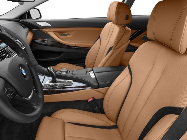 2016 BMW 6 Series Prices and Values Coupe 2D 640i I6 front seat interior
