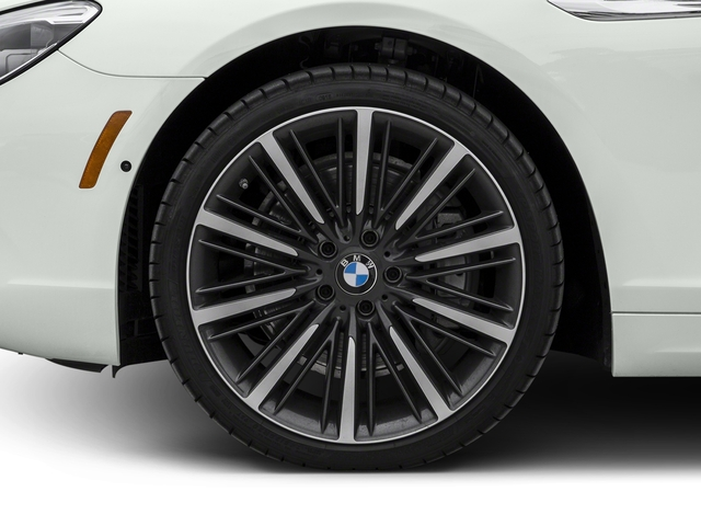 2016 BMW 6 Series Prices and Values Coupe 2D 640i I6 wheel
