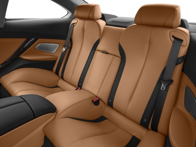2016 BMW 6 Series Prices and Values Coupe 2D 640i I6 backseat interior