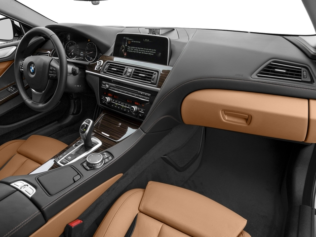2016 BMW 6 Series Prices and Values Coupe 2D 640i I6 passenger's dashboard