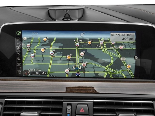 2016 BMW 6 Series Prices and Values Coupe 2D 640i I6 navigation system