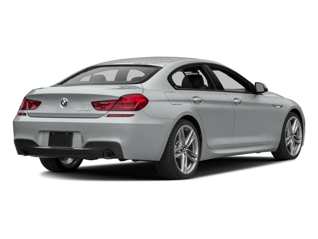 2016 BMW 6 Series Prices and Values Sedan 4D 640i I6 side rear view