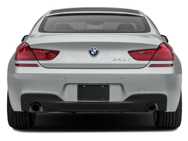 2016 BMW 6 Series Prices and Values Sedan 4D 640i I6 rear view