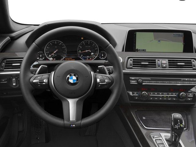 2016 BMW 6 Series Prices and Values Sedan 4D 640i I6 driver's dashboard