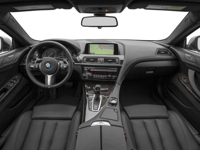 2016 BMW 6 Series Prices and Values Sedan 4D 640i I6 full dashboard