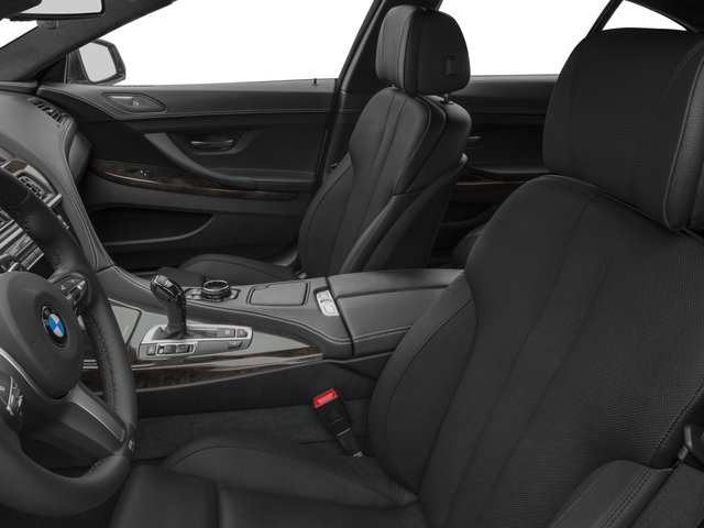 2016 BMW 6 Series Prices and Values Sedan 4D 640i I6 front seat interior