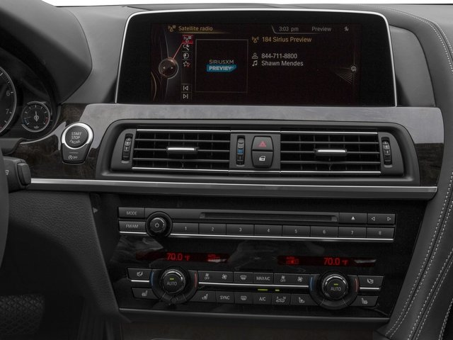 2016 BMW 6 Series Prices and Values Sedan 4D 640i I6 stereo system