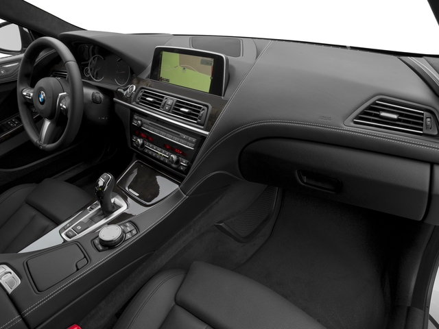 2016 BMW 6 Series Prices and Values Sedan 4D 640i I6 passenger's dashboard