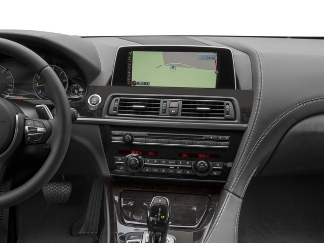 2016 BMW 6 Series Prices and Values Sedan 4D 640i I6 navigation system