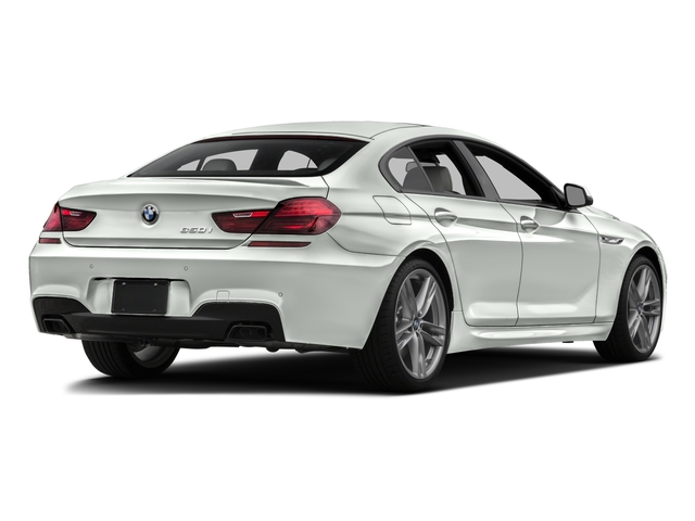 2016 BMW 6 Series Prices and Values Sedan 4D 650i V8 side rear view