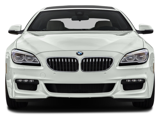 2016 BMW 6 Series Prices and Values Sedan 4D 650i V8 front view