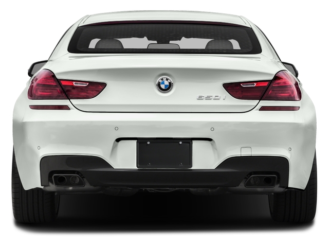 2016 BMW 6 Series Prices and Values Sedan 4D 650i V8 rear view