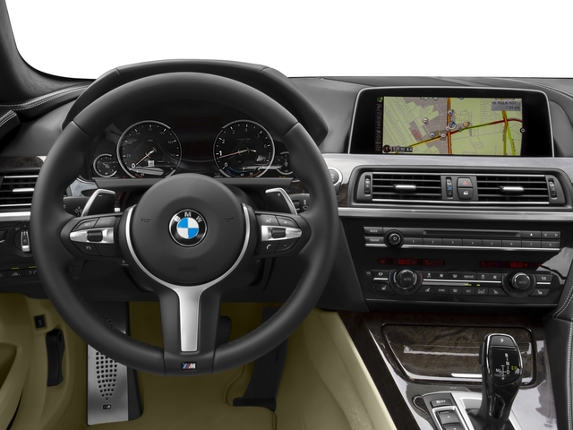 2016 BMW 6 Series Prices and Values Sedan 4D 650i V8 driver's dashboard