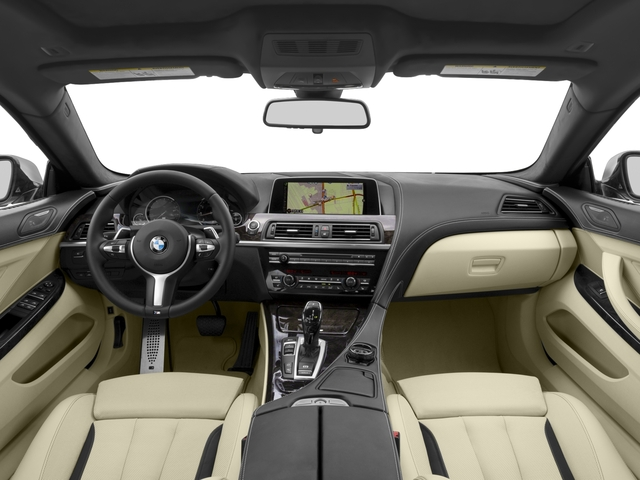 2016 BMW 6 Series Prices and Values Sedan 4D 650i V8 full dashboard