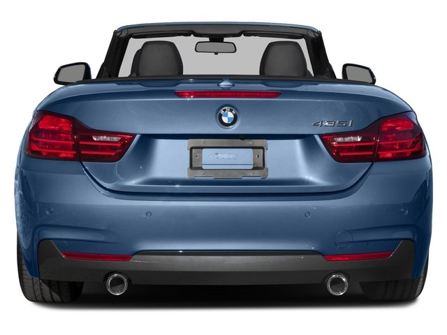2016 BMW 4 Series Prices and Values Convertible 2D 435i I6 Turbo rear view