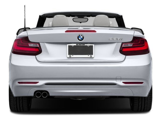 2016 BMW 2 Series Prices and Values Convertible 2D 228xi AWD I4 Turbo rear view