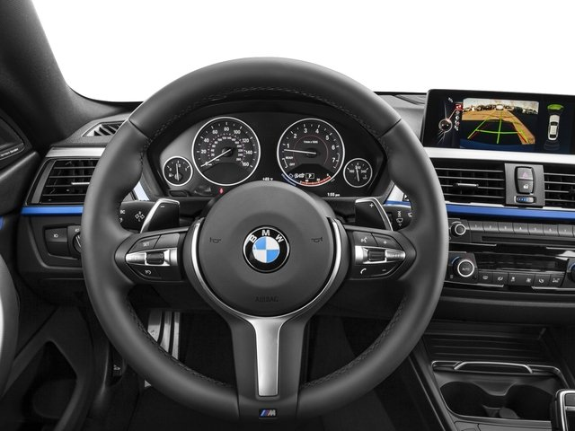 2016 BMW 4 Series Prices and Values Sedan 4D 435i I6 Turbo driver's dashboard