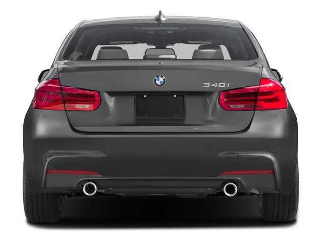 2016 BMW 3 Series Prices and Values Sedan 4D 340xi AWD I6 Turbo rear view