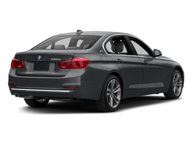 2016 BMW 3 Series Pictures 3 Series Sedan 4D 330e I4 Turbo photos side rear view
